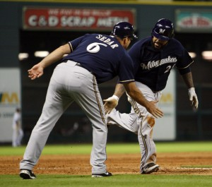 This happened slightly less often in Minute Maid Park in 2010.